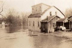 Flood at Cora Mill