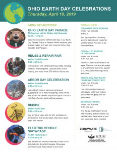 Earth Day Celebrations Poster 2019 FINAL